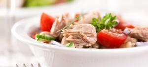 Макаронена салата с риба тон